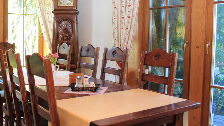 Tisch in unserem Restaurant