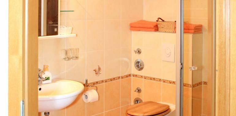 Badezimmer unseres Doppelzimmers